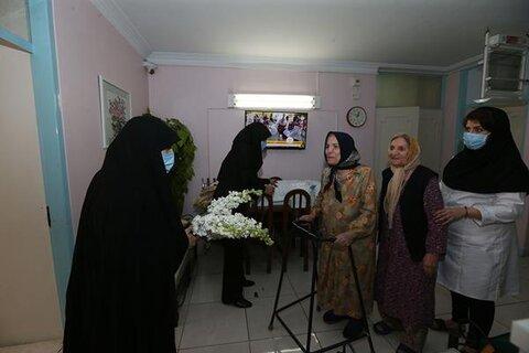 بازدید فراکسیون زنان مجلس شورای اسلامی از مرکز سالمندان کمال به مناسبت روز زن