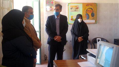 بازدید معاون توانبخشی بهزیستی استان یزد از مرکز مثبت زندگی بهاباد
