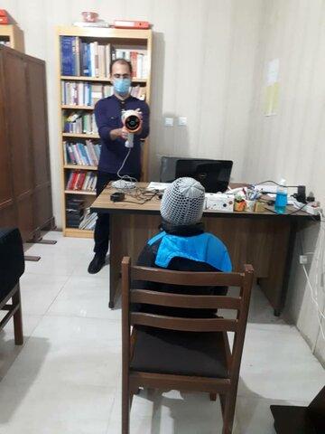 گزارش تصویری | طرح کشوری پیشگیری از تنبلی چشم در کودکان ۳ تا ۶ سال زنجانی انجام می شود .