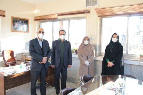 گزارش تصویری | دیدار مدیرکل با همکاران بمناسبت ولادت حضرت زهرا(س)