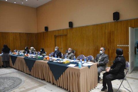 جلسه مجمع خیران برای حل مشکلات شیرخوارگاه آمنه
