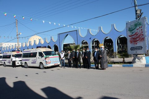 تجدید میثاق مدیران و کارکنان بهزیستی خوزستان با شهدای انقلاب