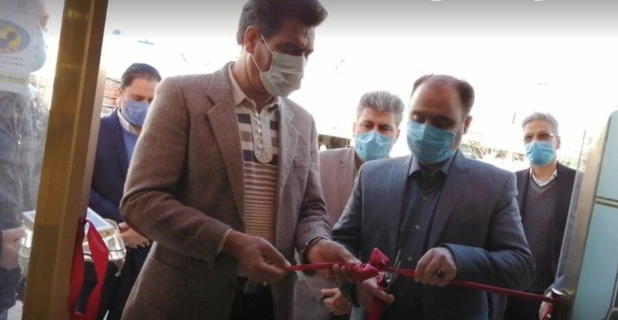 افتتاح دوطرح اشتغالزایی و مرکز مشاوره خانواده موفق در دهه ی فجر خ ج