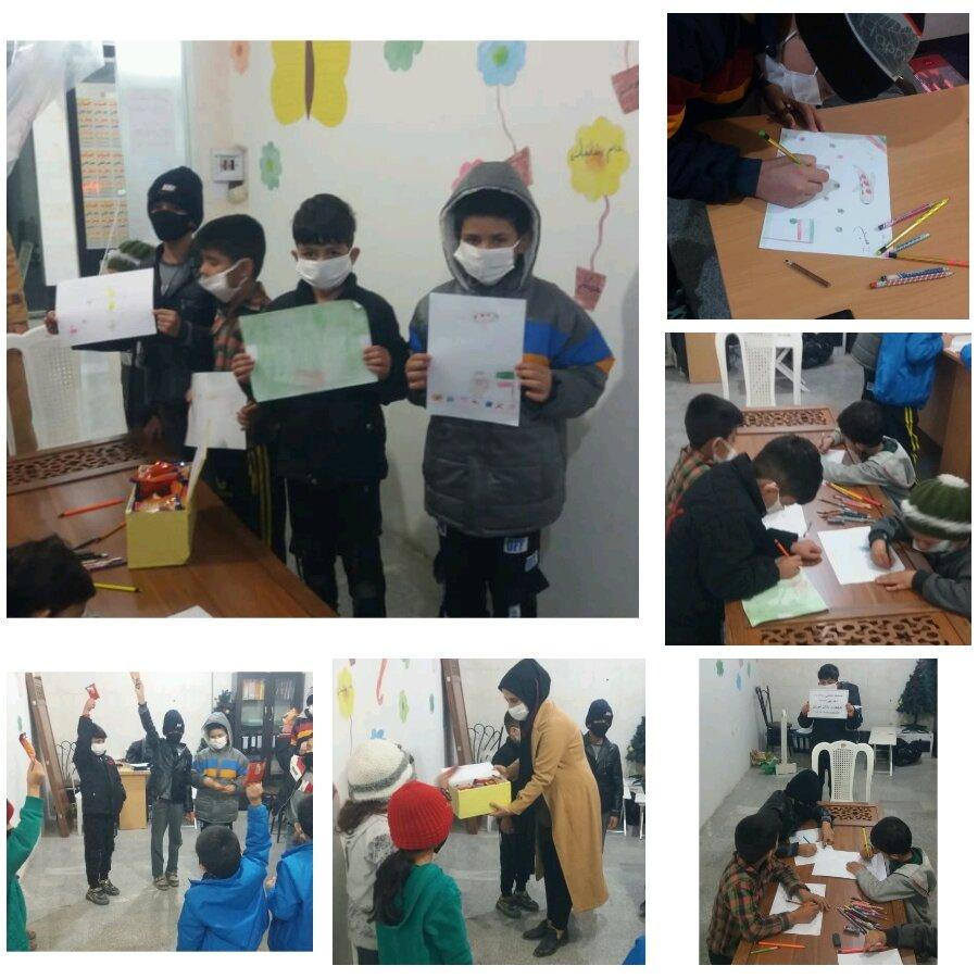 ساوجبلاغ    برگزاری مسابقه نقاشی با موضوع دهه فجر بین کودکان پایگاه خدمات اجتماعی ملک آباد