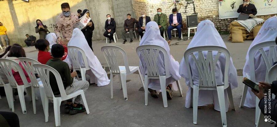 آمل ׀ جشن انقلاب و جشن تکلیف ویژه دختران منطقه آسیب رضوان38 برگزار شد