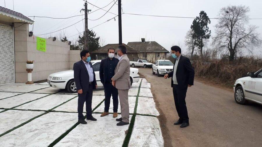 افتتاح کمپ آرامش پژوهان گیل به مناسبت ایام الله دهه مبارک فجر در شهرستان صومعه سرا