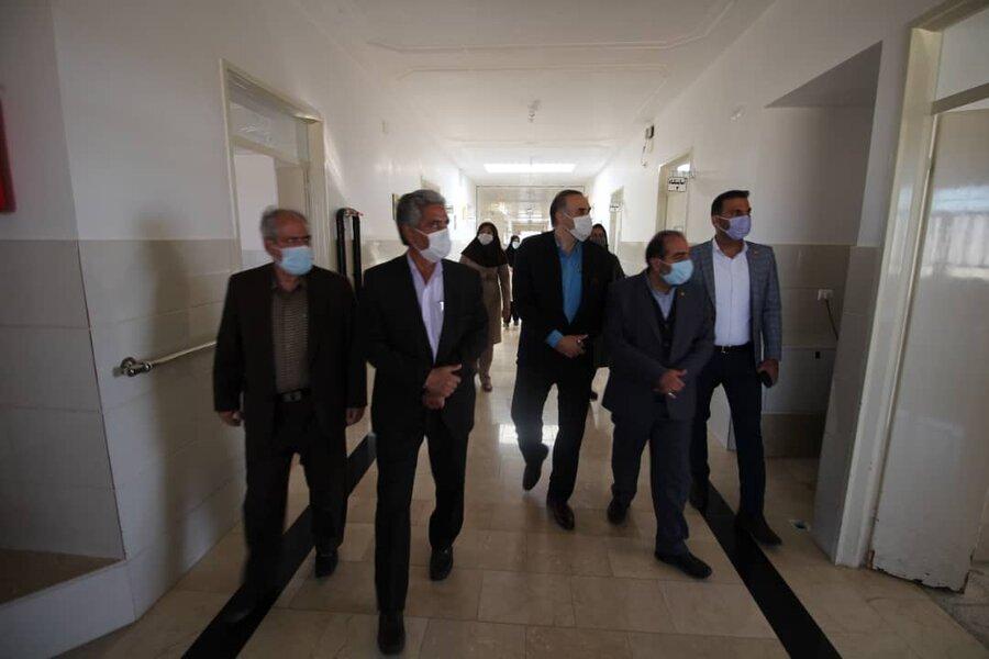 سفر مدیرکل بهزیستی فارس به آباده   بازدید از ۲ فاز مرکز توانبخشی سالمندان در آباده