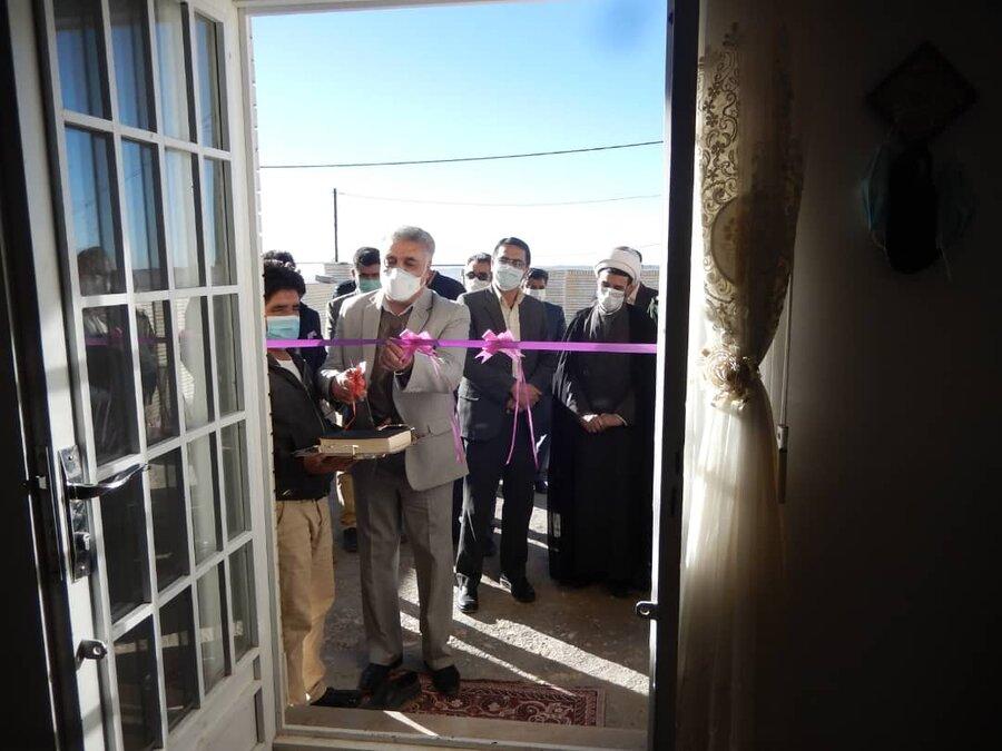 افتتاح و تحویل مسکن مددجویی در شهرستان بافت