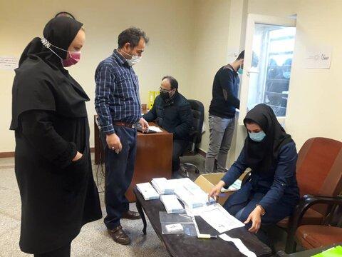 گزارش تصویری| حمایت خیریه نیک گامان جمشید از مددجویان بهزیستی استان تهران