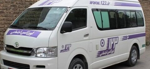 فعالیت ۵ خط ۱۲۳ در شهرستانهای استان زنجان