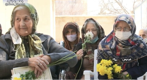با هم ببینیم | گزارش صداوسیمای البرز از سرای  سالمندان به مناسبت روز مادر