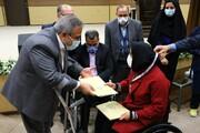گزارش تصویری | تجلیل از مدال آوران اولین دوره مسابقات پارا المپیاد ورزشی محلات شهر یزد