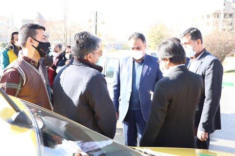 گزارش تصویری | مشهد | مراسم مشترک میثاق با شهدا بین سازمان تاکسیرانی و بهزیستی مشهد
