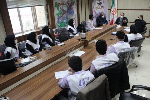 نشست هم اندیشی معاون امور اجتماعی سازمان بهزیستی کشور با کارشناسان اورژانس اجتماعی