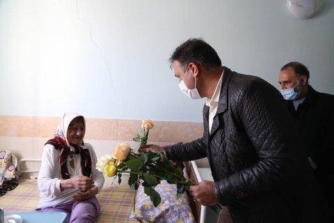 گزارش تصویری | دیدار با مادران مقیم در مرکز سالمندان ستایش