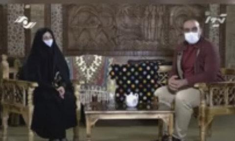 با هم ببینیم | مصاحبه ی بانوی سرپرست خانواده تحت پوشش بهزیستی طالقان پخش شده از سیمای استان البرز