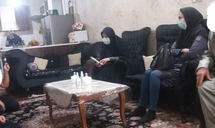 شهرقدس|بازدید رئیس بهزیستی از خانواده دو معلولی تحت پوشش