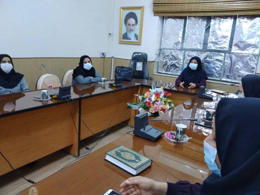 تنگستان | ازبانوان شاغل در بهزیستی اهرم تجلیل شد