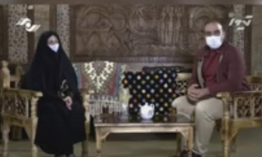 با هم ببینیم   مصاحبه ی بانوی سرپرست خانواده تحت پوشش بهزیستی طالقان پخش شده از سیمای استان البرز