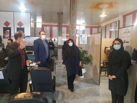 گزارش تصویری| بازدید از مرکز مثبت زندگی در منطقه حاشیه نشین مراغه