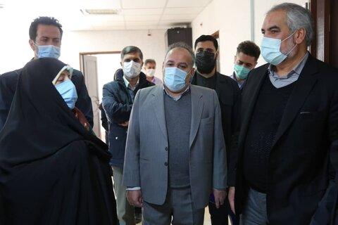 حضور معاون رئیس جمهور در مرکز اورژانس اجتماعی بهزیستی کردستان