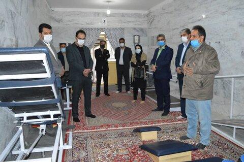 فیروزه   بهرهبرداری از اولین واحد کاردرمانی شهرستان فیروزه در ایام دهه فجر