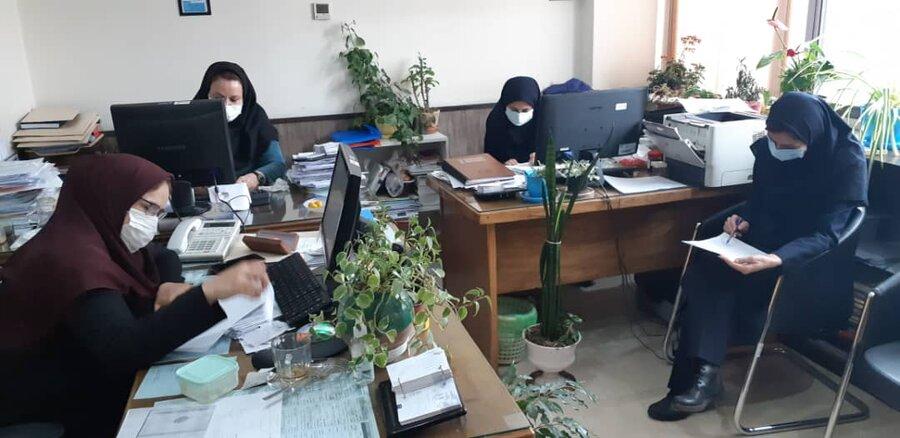 برگزاری آزمون دستورالعمل های اجرایی دفتر زنان