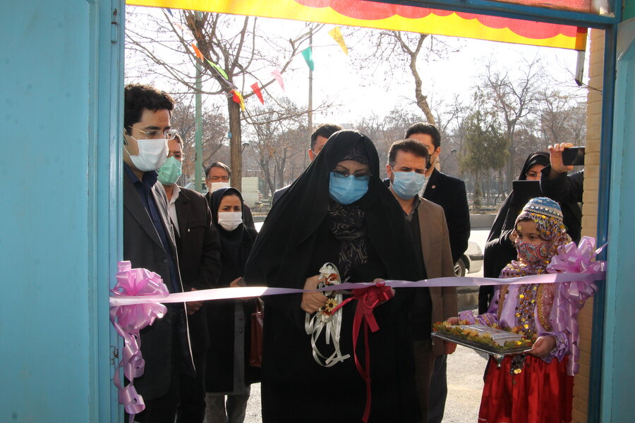 افتتاح مرکز توانبخشی کودکان ناشنوا روزانه ایران  ، کارگاه آموزش قلم زنی ، راه اندازی دستگاه ویژه نابینایان و افتتاح