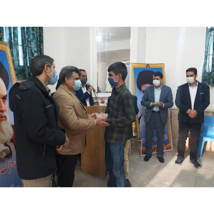 مسابقات شطرنج نابینایان وکم بینایان استان برگزارشد