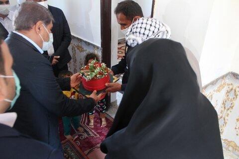 ببینیم|واگذاری ۱۰۹ واحد مسکونی به مددجویان بهزیستی خوزستان همزمان با سراسر کشور