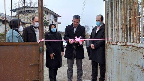 افتتاح پروژه اشتغال زایی پرورش خاک گلدان در شهرستان رودسر