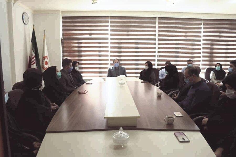 دیدار مدیرکل بهزیستی آذربایجان غربی با همکاران بهزیستی شهرستان سلماس