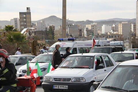 گزارش تصویری  رژه خودروهای اورژانس اجتماعی