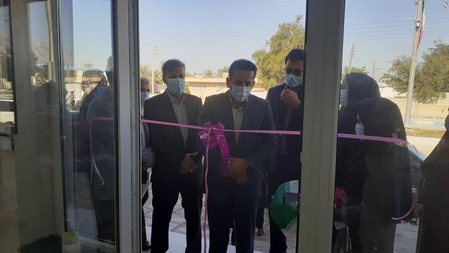 تنگستان همزمان با یوم الله 22 بهمن مراکز مثبت زندگی افتتاح شد