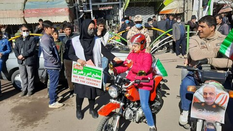 گزارش تصویری| رژه خودرویی اورژانس اجتماعی در  ۲۲ بهمن