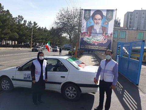 گزارش تصویری |مانور خودروهای خدمات سیار اورژانس اجتماعی ۱۲۳ بهزیستی استان قزوین همزمان با برگزاری راهپیمایی خودرویی یوم الله ۲۲ بهمن