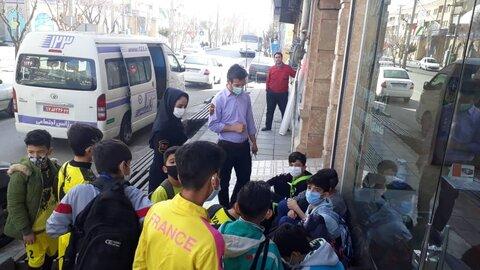 حضور فعالانه اورژانس اجتماعی در راهپیمایی خودرویی ۲۲ بهمن