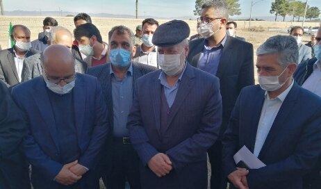 نطنز| پروژه مسکونی بهاران۲ بادرود با حضور استاندار اصفهان افتتاح شد