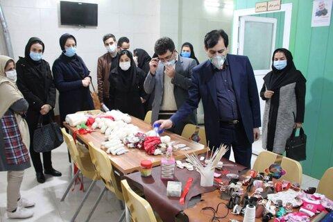 افتتاح کارگاه اشتغال زایی زنان بهبود یافته اعتیاد استان البرز