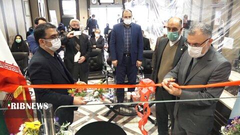 گزارش تصویری ا افتتاح باجه ویژه روشندلان در بانک سپه اردبیل