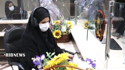 افتتاح باجه ویژه روشندلان در بانک سپه اردبیل