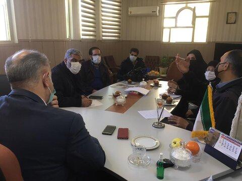 برگزاری نشست علمی و خبری در بهزیستی پاکدشت