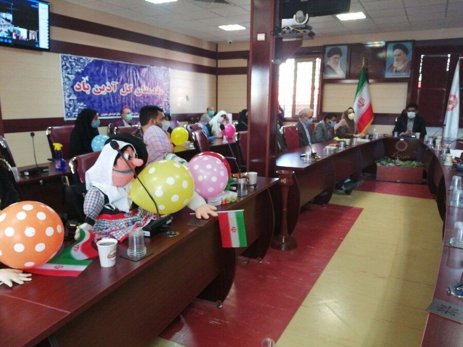 اختتامیه ی جشنواره های مجازی مشق باران و نمایش عروسکی خ ج