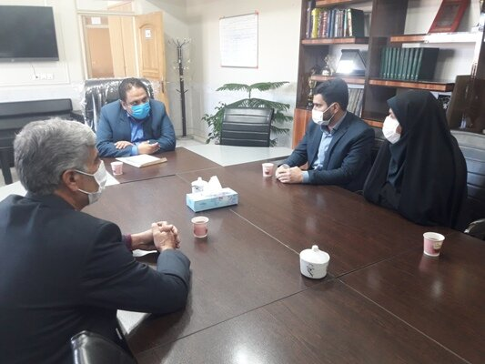 چادگان  دیدار رئیس اداره بهزیستی شهرستان چادگان با شهردار جدید