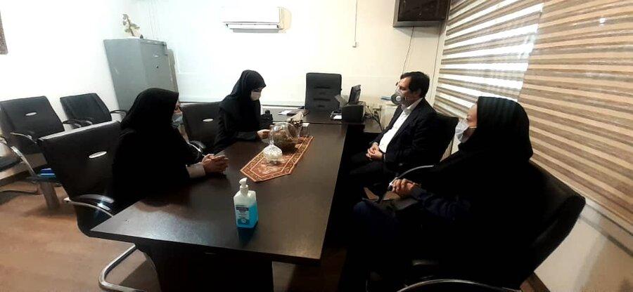 بازدید مدیرکل بهزیستی البرز از مراکز نگهداری کودکان بی سرپرست