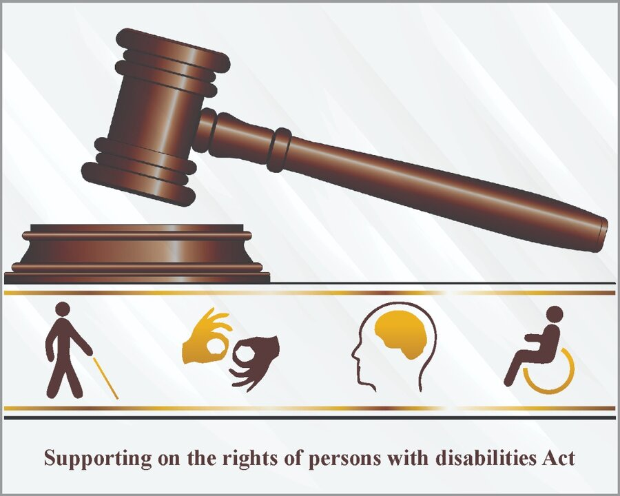 Supporting on the rights of persons with disabilities Act1