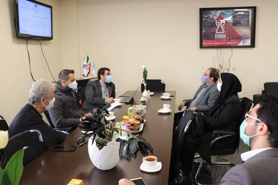 برگزاری نشست و تعامل بهزیستی آذربایجان غربی و هلدینگ اتراب