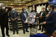 گزارش تصویری| آئین تجلیل از دست اندرکاران همایش ادبیات عاشورایی با حضور دکتر قبادیدانا