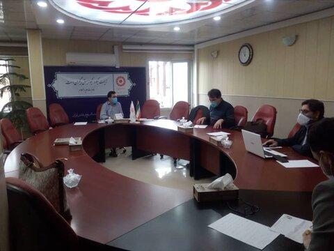جلسه هماهنگی ساماندهی مراکز و دفاتر مشاوره  تحت پوشش