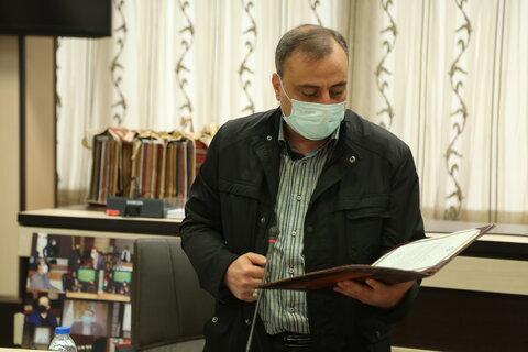تجلیل از برگزار کنندگان همایش ادبیات عاشورایی